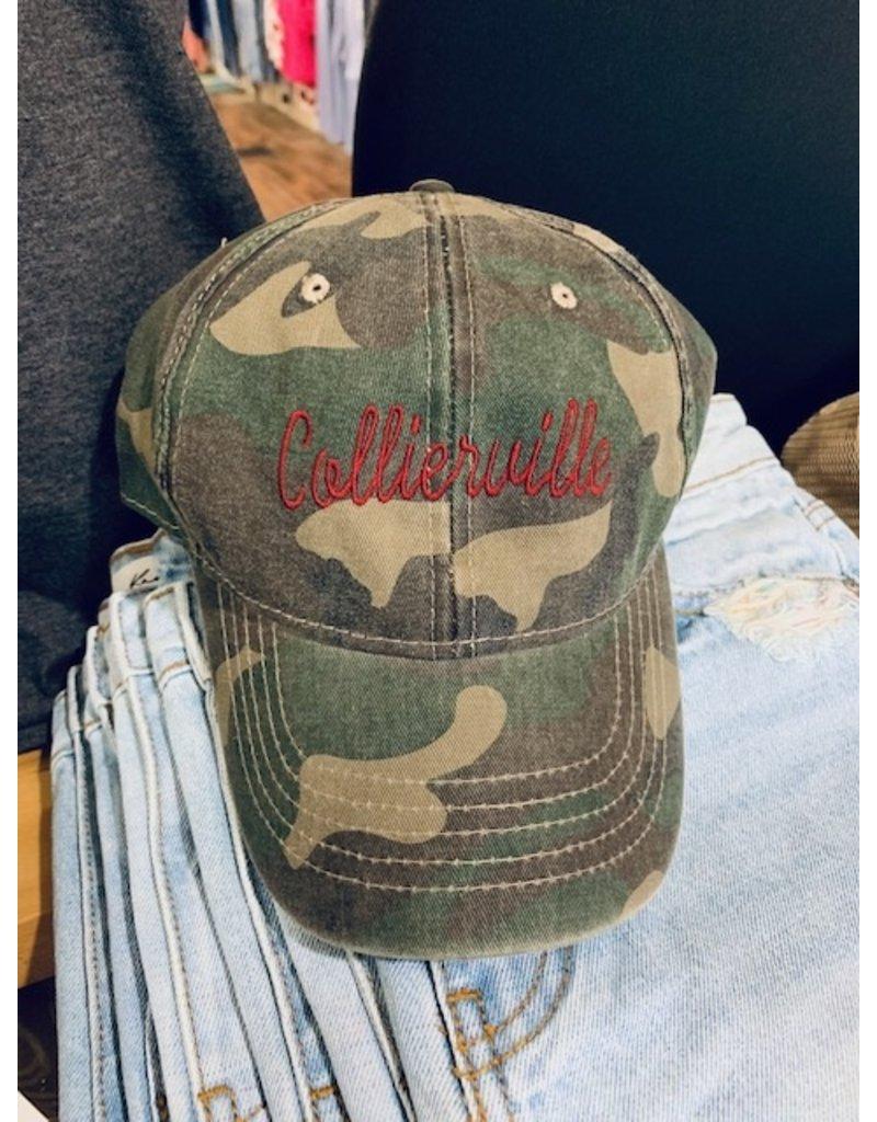SIU Custom Collierville Adult Baseball Hat
