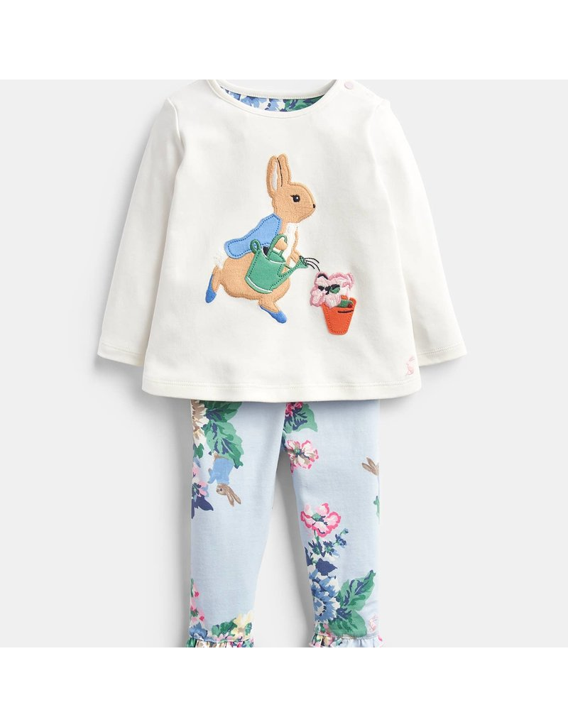 Joules Poppy Top and Pants Set