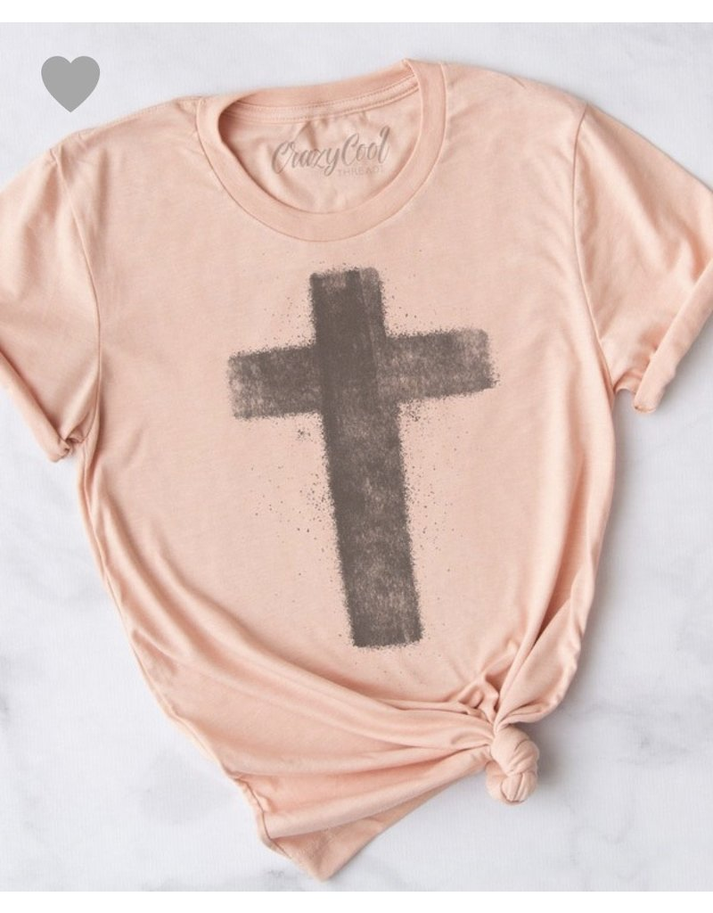 Crazy Cool Threads Vintage Cross tee