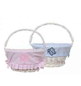Mud Pie Seersucker Baskets