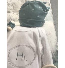 Love Bug Baby Bedding Gown Boy w/hat