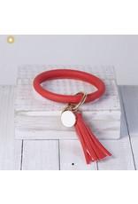 Lauren Lane Lauren Lane Halo Tassel Bracelet Key Ring