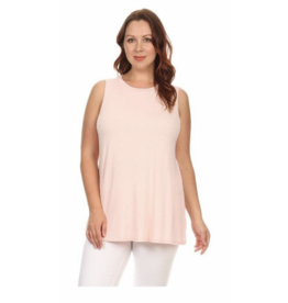 Chris & Carol Apparel Plus Size Sleeveless Top