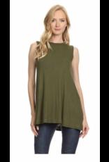 Chris & Carol Apparel Plus Size Sleeveless Top