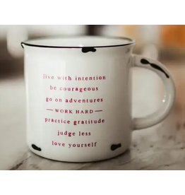 Matted Ink Life Mantra Mug