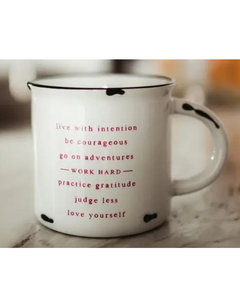 Matted Ink Life Mantra Mug