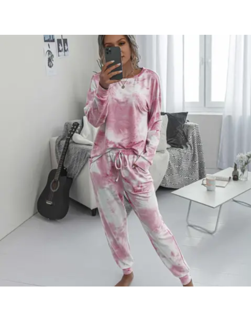 Tie Dye Lounge set - long