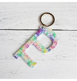 The Purple Chickadee Acrylic Door Opener Keychain