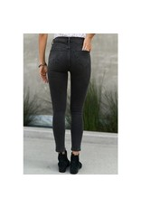 Risen Jeans Washed Grey Skinny Jeans