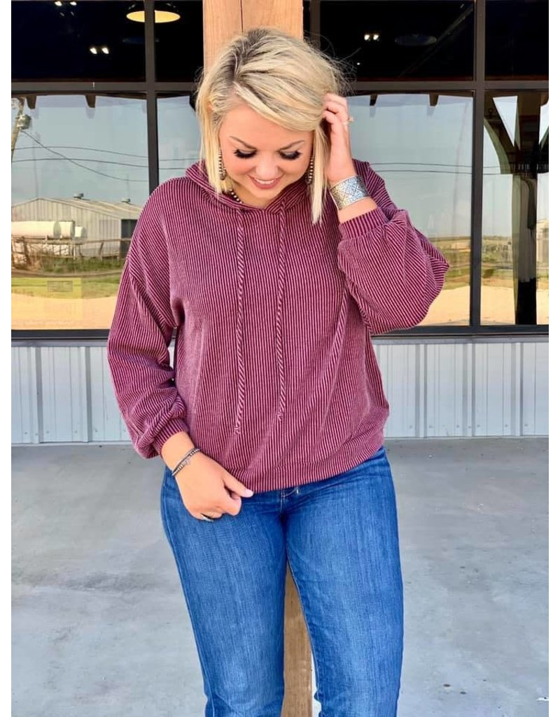 Texas true threads Shelby Wavy Hoodie