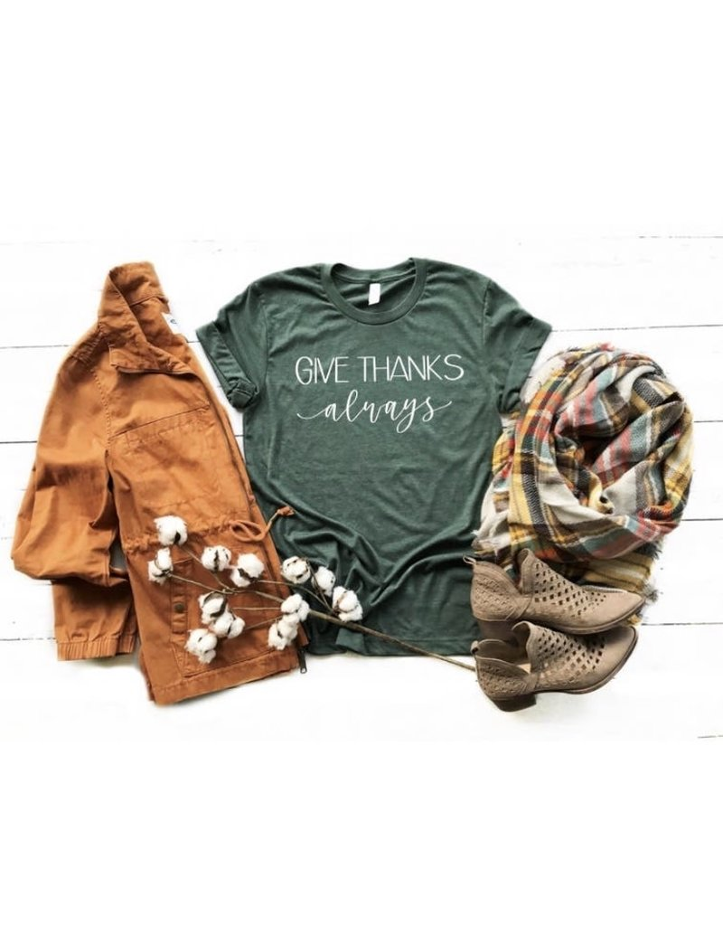FAMS Design Give Thanks Fall t-shirt