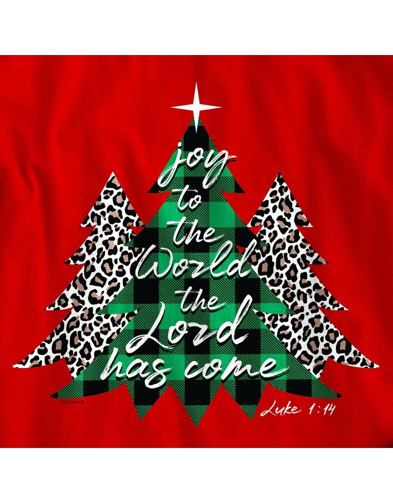Kerusso Christmas Trees LS Tee
