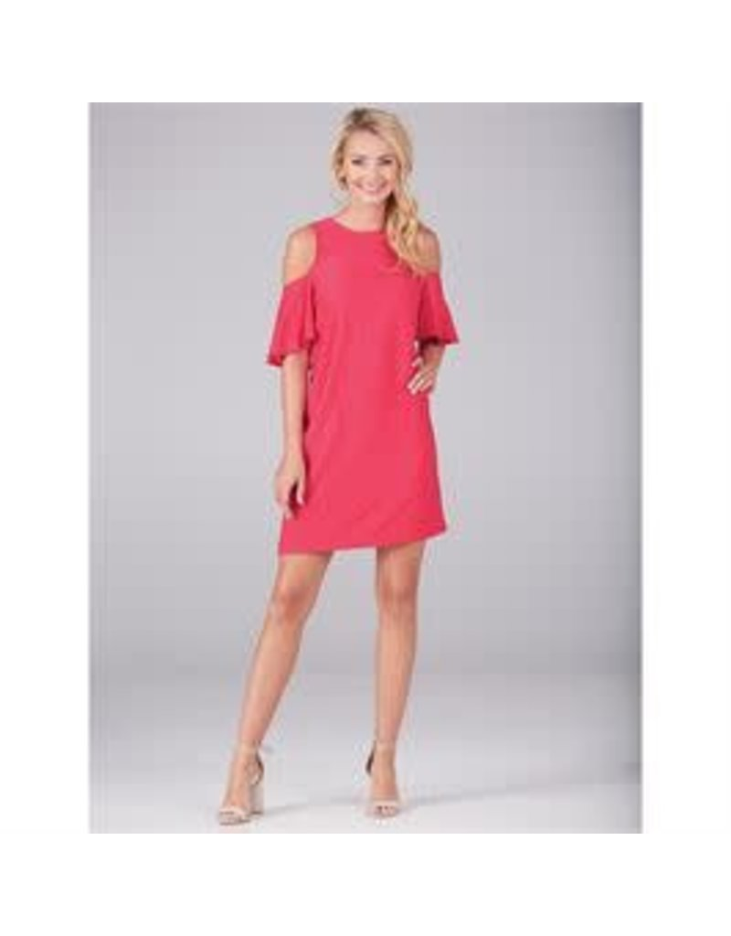 Mud Pie Cora Cold Shoulder Dress