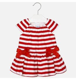 Mayoral USA 1966 Stripes Poplin Dress