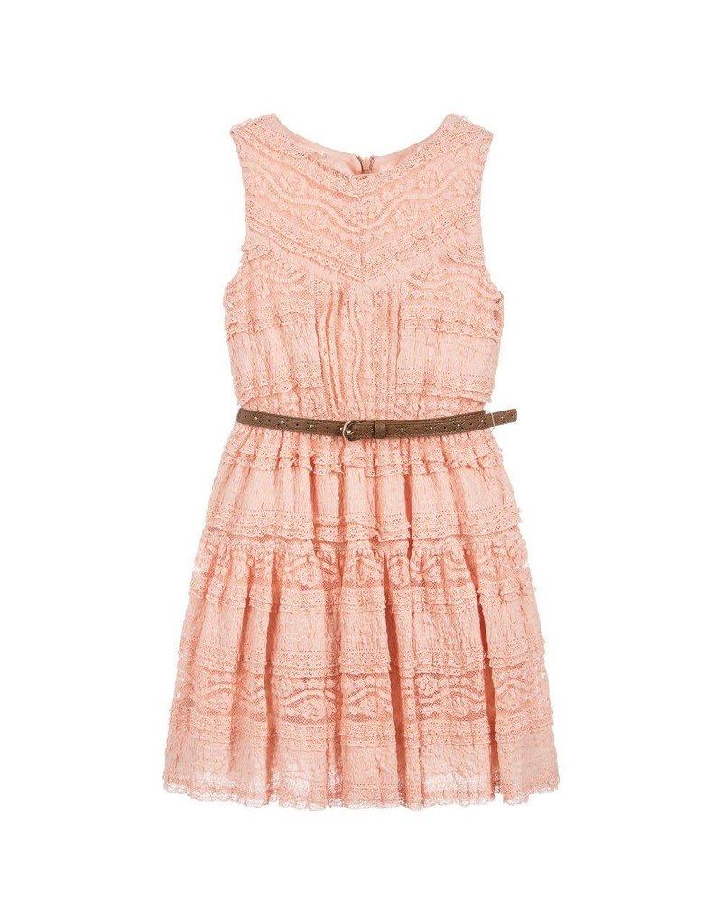 Mayoral USA 6946 Knit Lace Dress