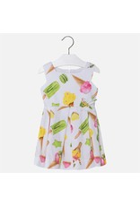 Mayoral USA 3930 Ice Cream Sateen Dress