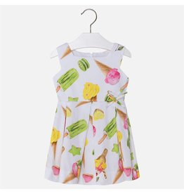 Mayoral USA 3930 Ice Cream Sateen Dress