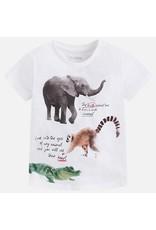 Mayoral USA 3077 S/S Animals Shirt
