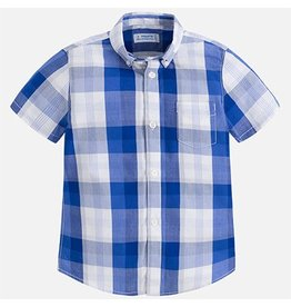 Mayoral USA 3154 Checked S/S shirt