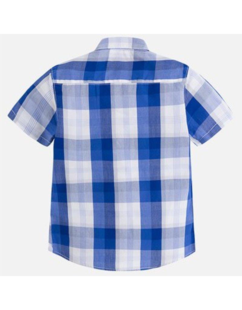 Mayoral USA 3154 Checked S/S shirt