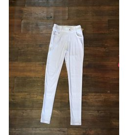 Yelete White Jegging - Pant Length