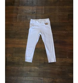 Yelete White Jegging - Capri Length
