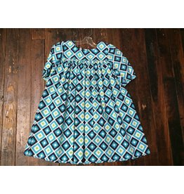 Sage & Lilly Addie dress Blueberry
