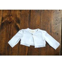 Mayoral 193 Ruffled white sweater