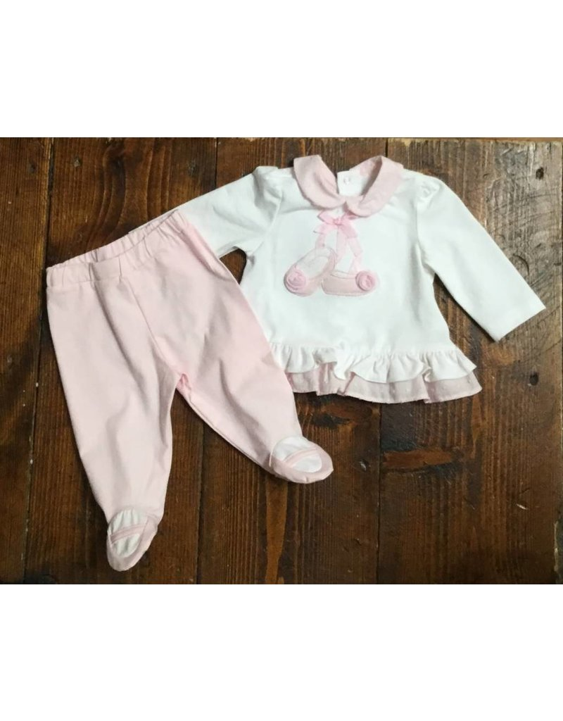 Mayoral 1512 Rosa baby 2 pc ballet set