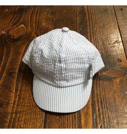 MudPie Seersucker baseball hat