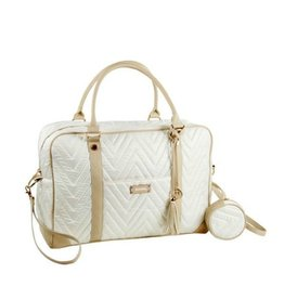 Mayoral IVORY QUILTED BABY CHANGING BAG