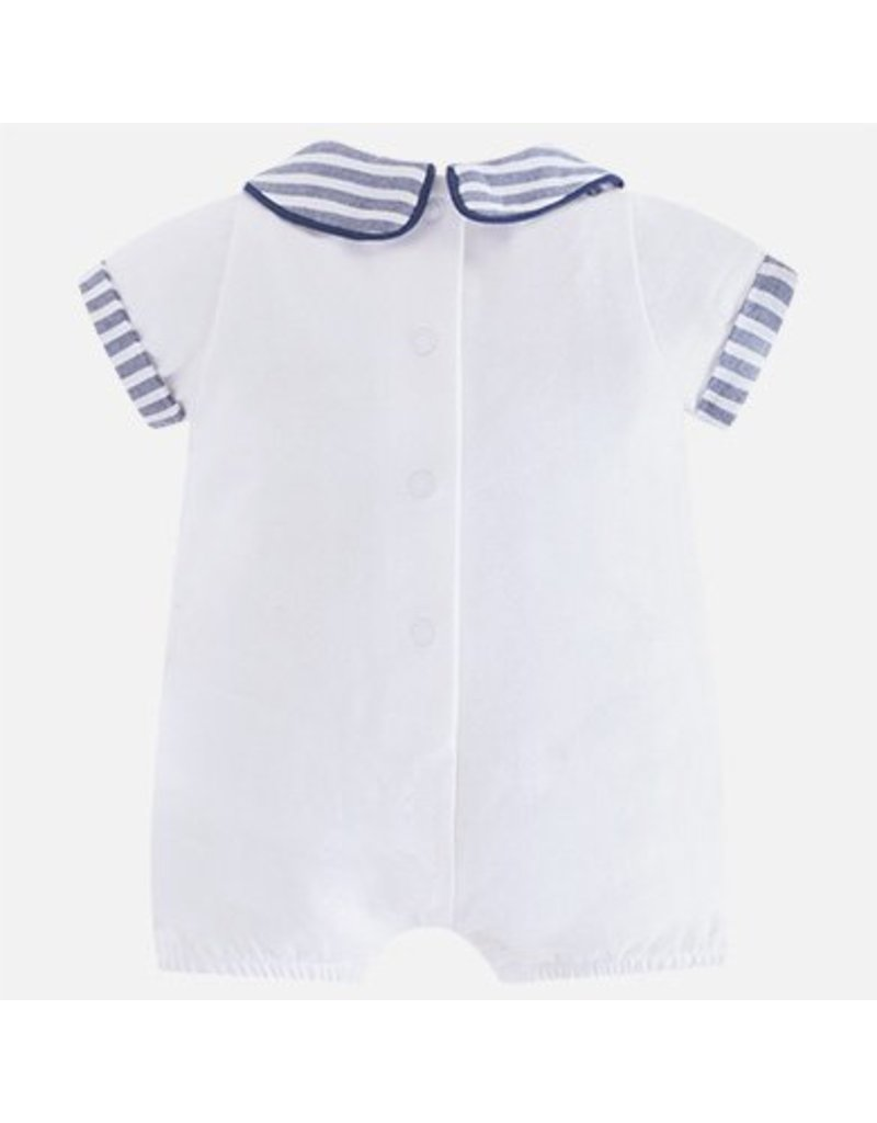 Mayoral 1622 Sailor Knit romper