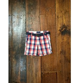Mayoral 3233 Plaid Short w/Belt