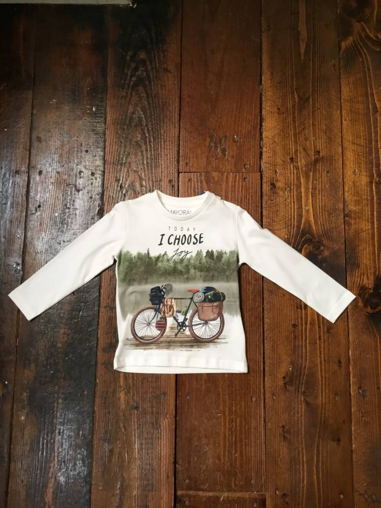 Mayoral 4015 L/S Bicycle T-shirt