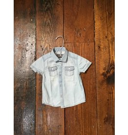 Mayoral 1153 s/s denim shirt