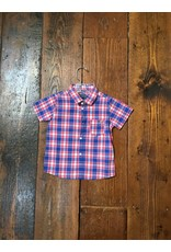 Mayoral 1159 Checked s/s shirt