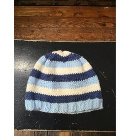 Buttons & Bows Knit hat blue multi-6-12m