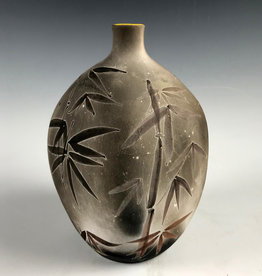 Damian Ross Black Vase