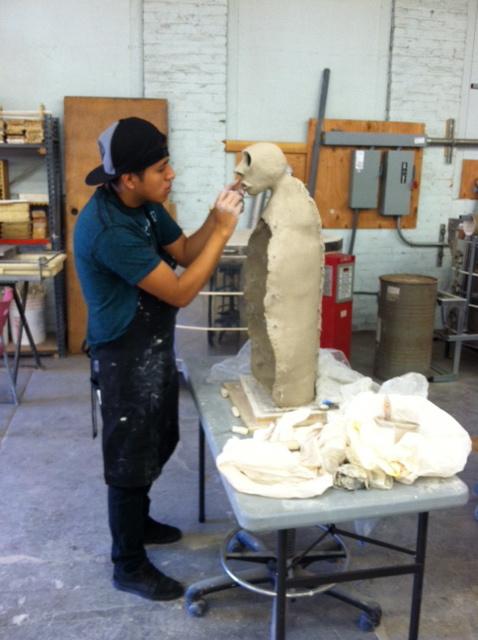 Beginning and Intermediate Sculpture - Fall 19