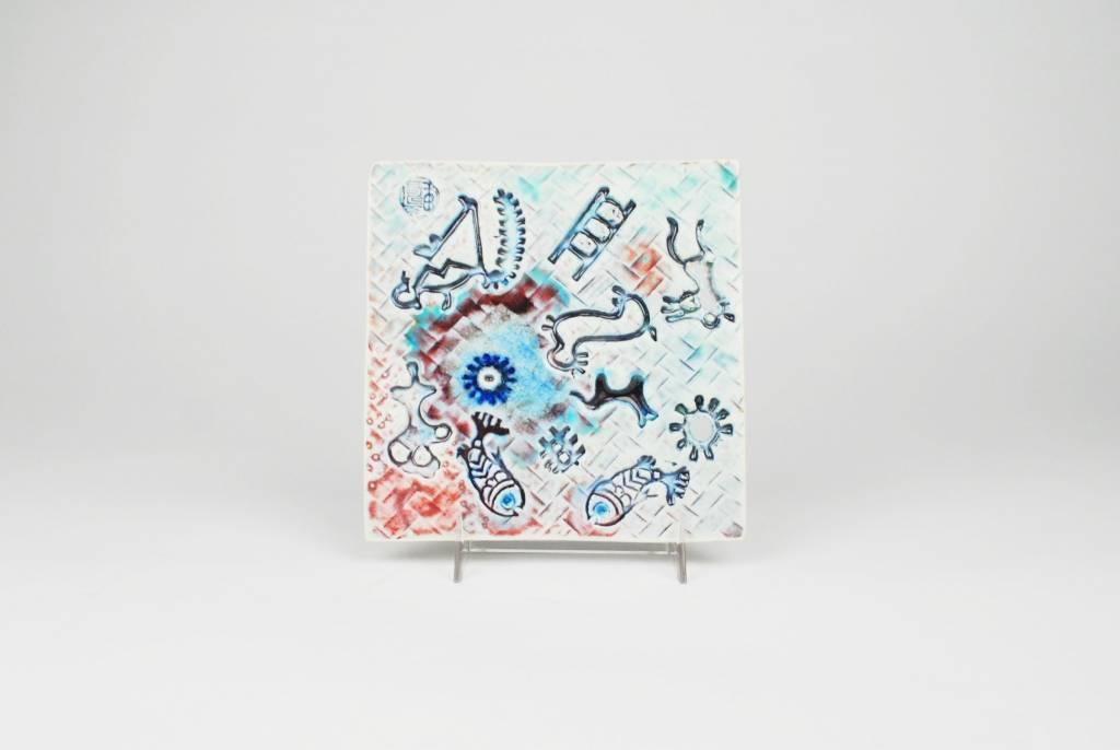 Julie Bagish Playful Tile Lotus