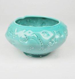 John W. Hopkins Green Celadon Bowl