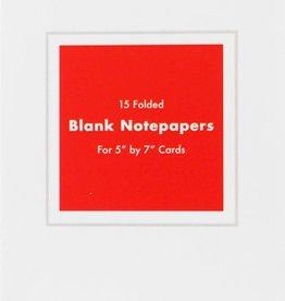 Blank Notecard