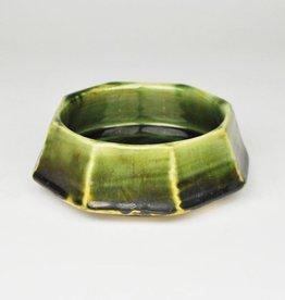 Mariko Itagaki Octagon Bowl, Oribe
