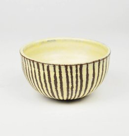 Natan Moss Brown Stripe Bowl