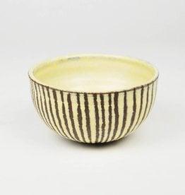 Natan Moss Brown Stripe Bowl