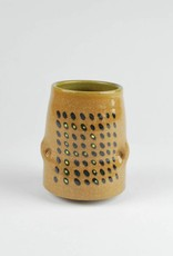 Daniel Siegel Stoneware Cup with Yellow
