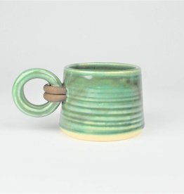 Jan Schachter Mug-Cushing Green