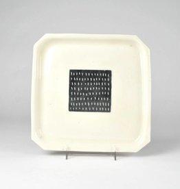 Susan Hanft Square Plate