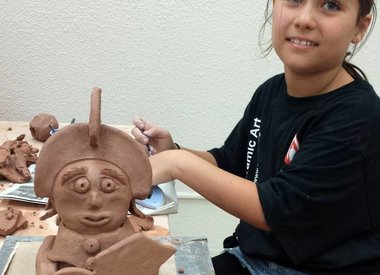 Workshops / Clay Camp - Children