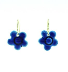 Tasha McKelvey Blue Porcelain Earrings